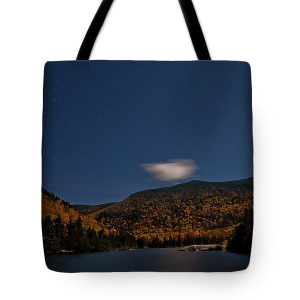 Stars Over Kinsman Notch Tote Bag