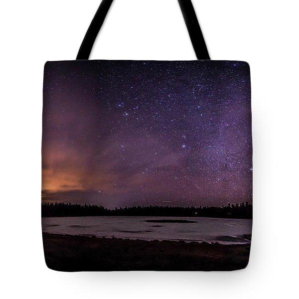 Stars Over Lake Eaton Tote Bag