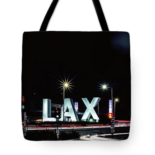Stars Over Lax Tote Bag