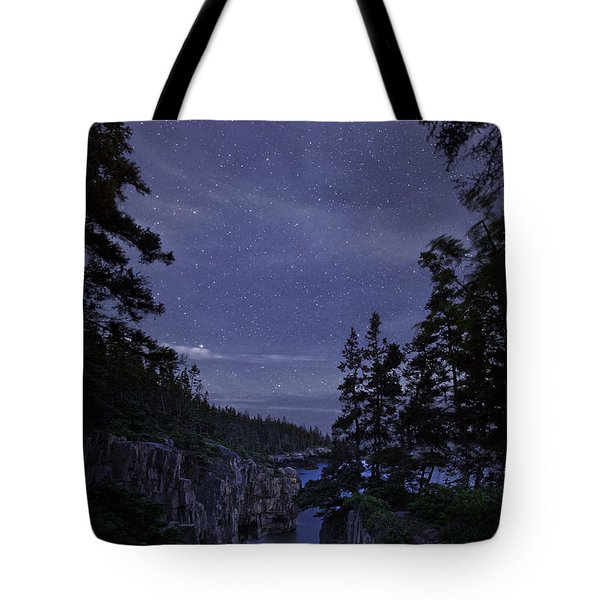 Stars Over Raven's Roost Tote Bag