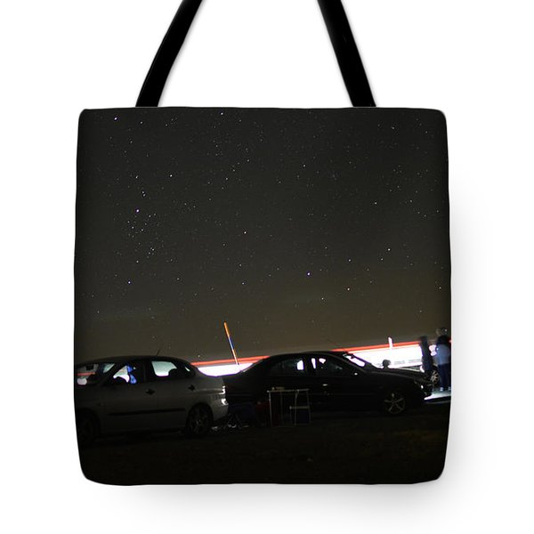 Stars Perseidas Tote Bag by Curro Garcia Olmedo