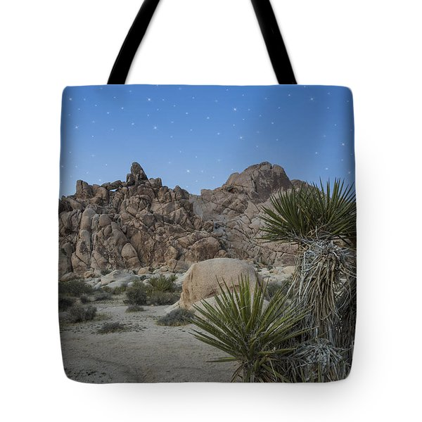 Stars Shining Over Indian Cove Tote Bag