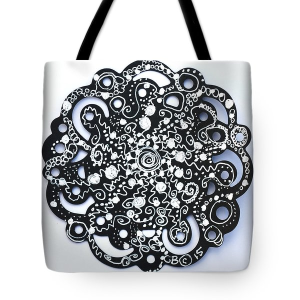 Stars Tote Bag by Carole Brecht