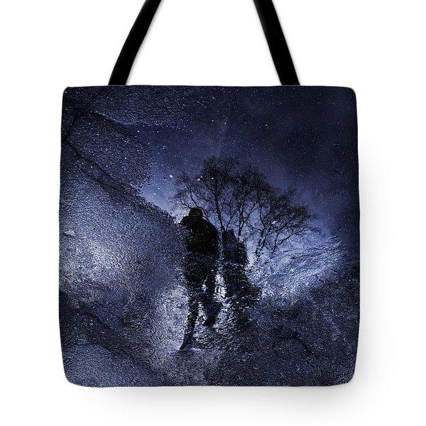Stars Walking Tote Bag