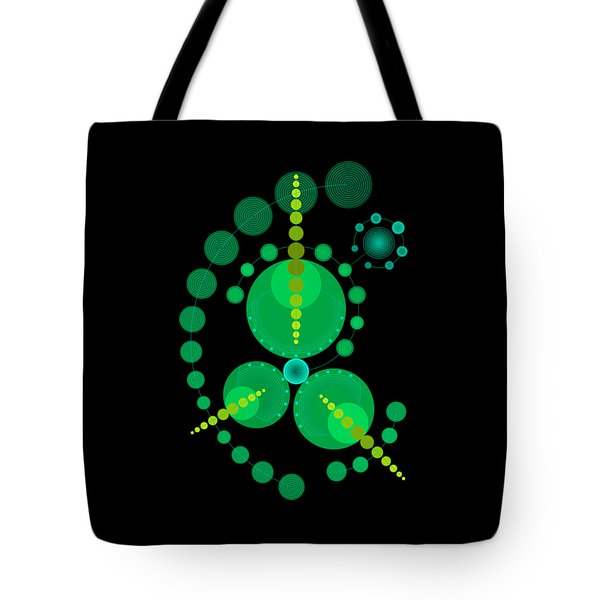 Starship Color Tote Bag by DB Artist