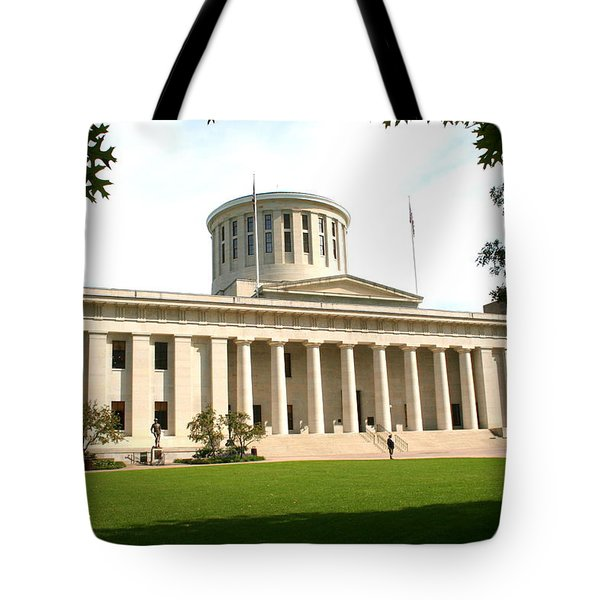 State Capitol Of Ohio Tote Bag