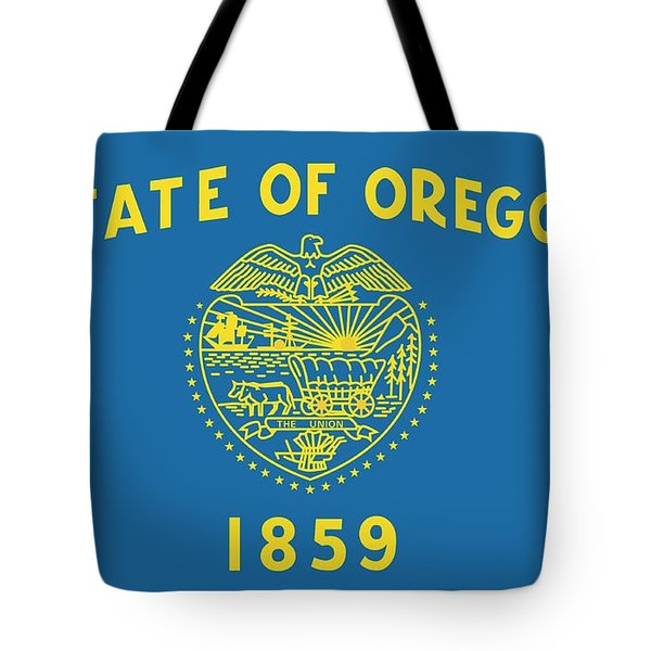 State Flag Of Oregon Tote Bag by American School