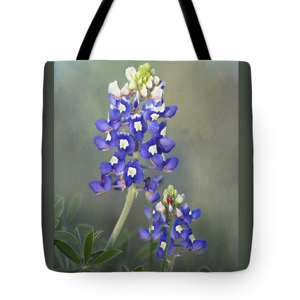 Tote Bag featuring the photograph State Flower Of Texas by David and Carol Kelly