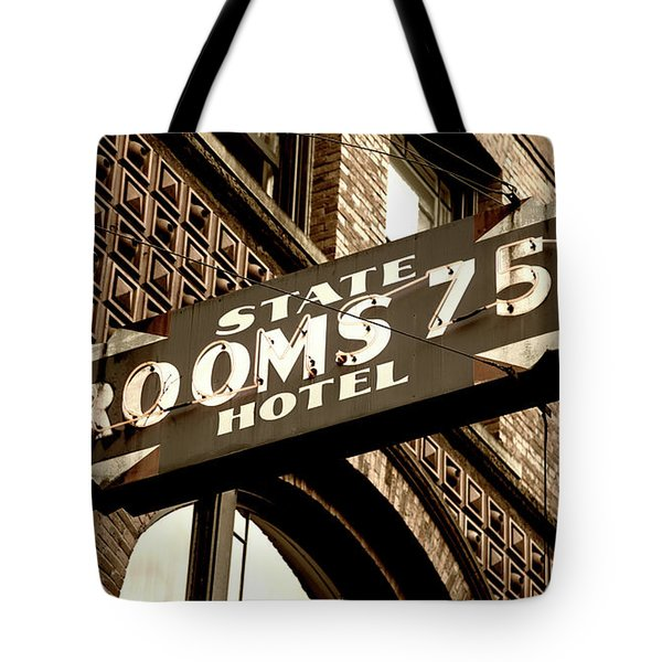 State Hotel - Seattle Tote Bag