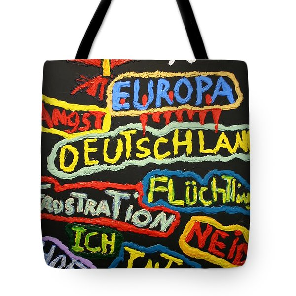 State Of Europe Tote Bag