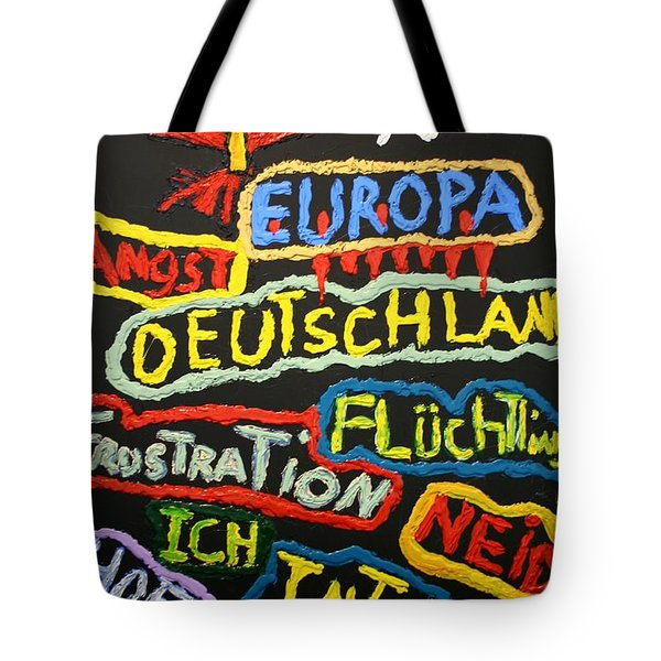 State Of Europe Tote Bag