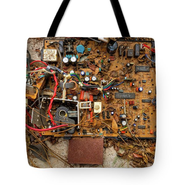 Tote Bag featuring the photograph State Of The Art by Christopher Holmes