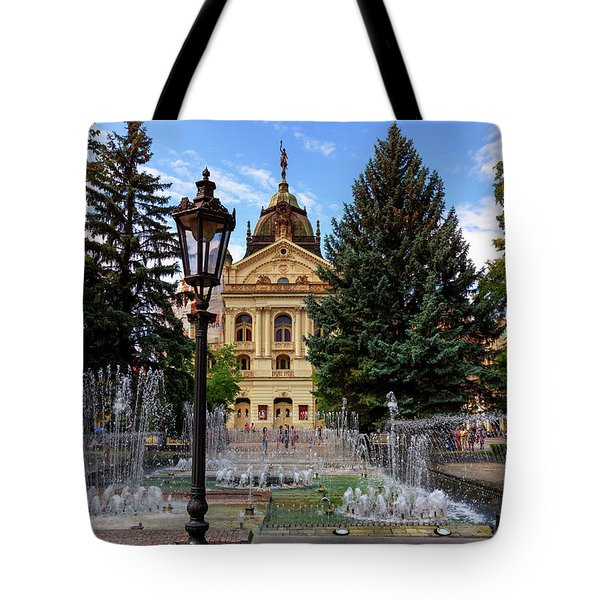State Theater In The Old Town, Kosice, Slovakia Tote Bag