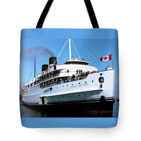 Stately Princess Marguerite Tote Bag by Will Borden