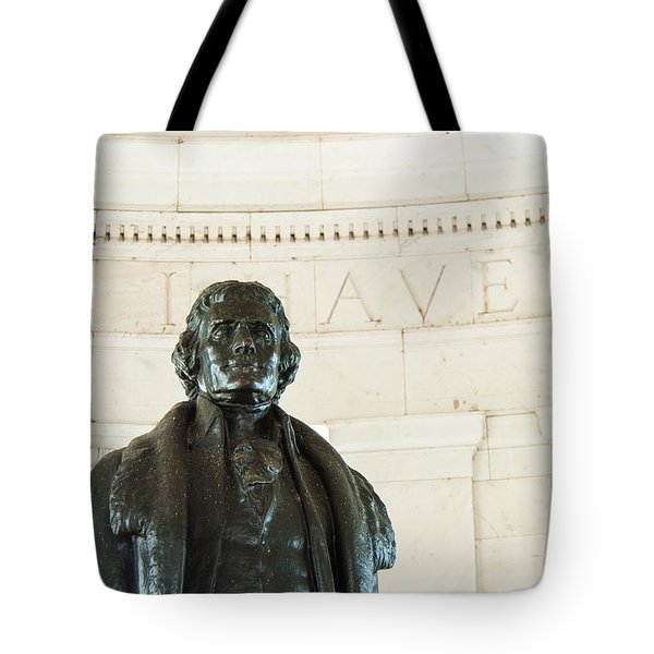 Stately Profile Tote Bag