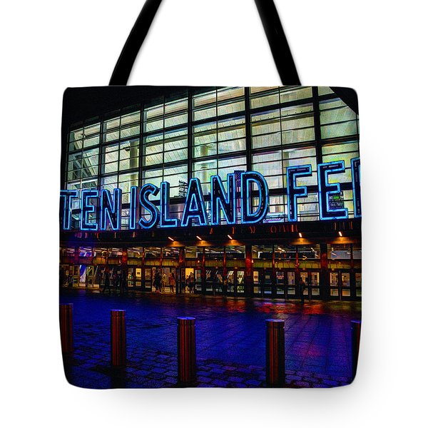 Staten Island Ferry 236 Tote Bag