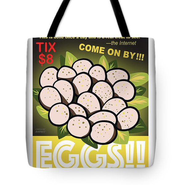 Staten Islands Eggs Tote Bag