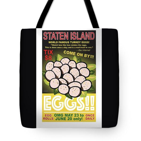 Staten Islands Eggs Tote Bag