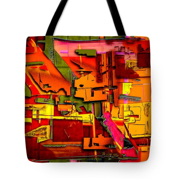 Industrial Autumn Tote Bag by Don Gradner