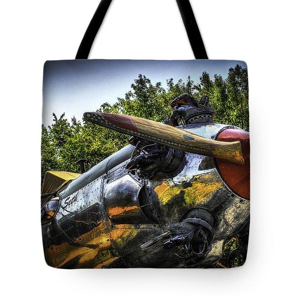 Static And Shiny Tote Bag