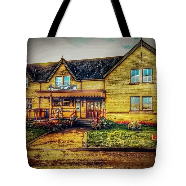 Tote Bag featuring the photograph Station by Cliff Norton