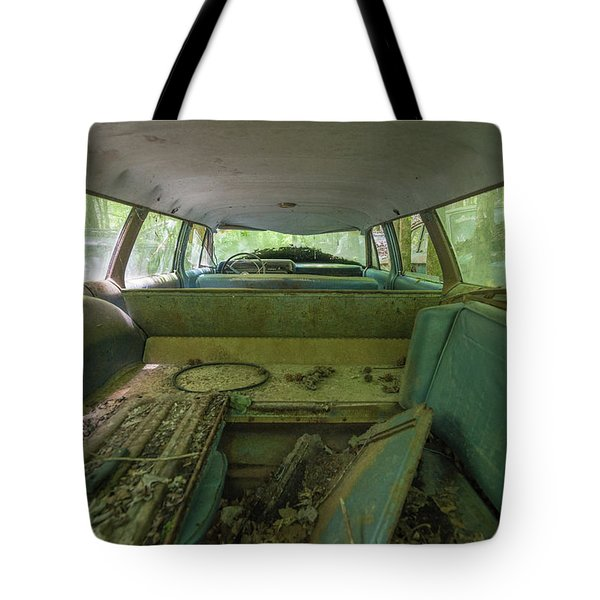 Station Wagon In Color Tote Bag