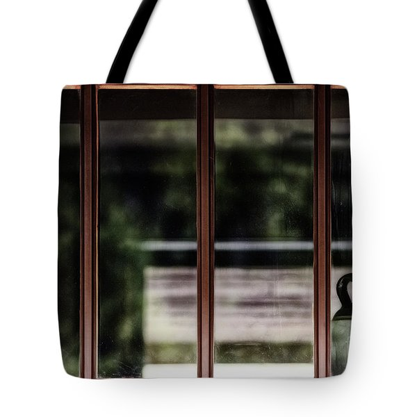 Tote Bag featuring the photograph Station Window by Brad Allen Fine Art