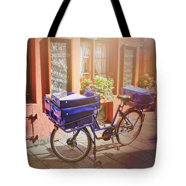Stationary In Freiburg Tote Bag by Carol Japp