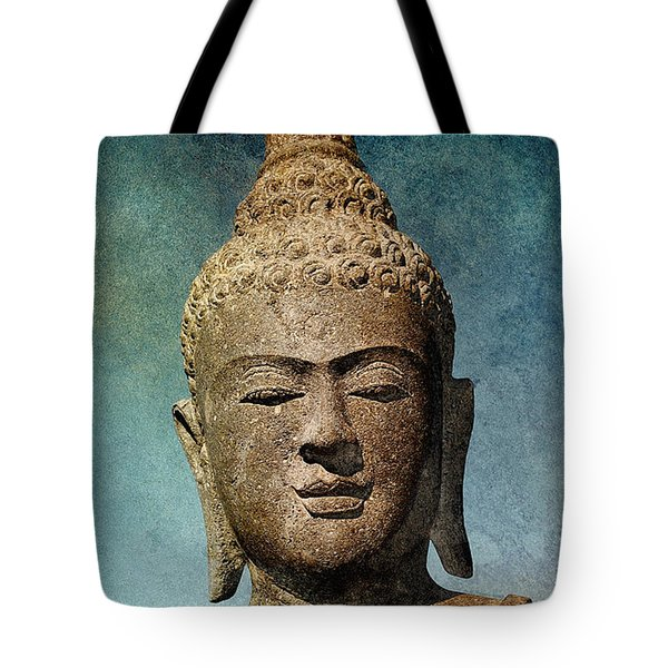 Statue 3 Tote Bag by WB Johnston