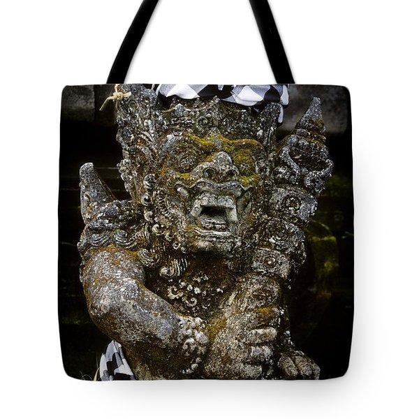 Statue Formalwear Tote Bag