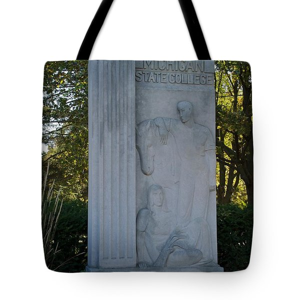 Statue Tote Bag by Joseph Yarbrough