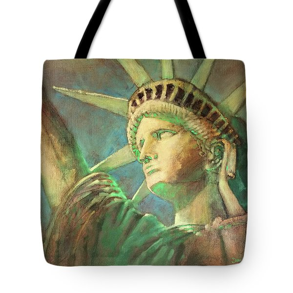 Statue Of Liberty 1 Tote Bag