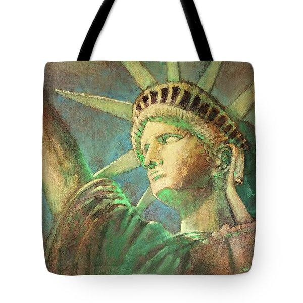 Statue Of Liberty 1 Tote Bag