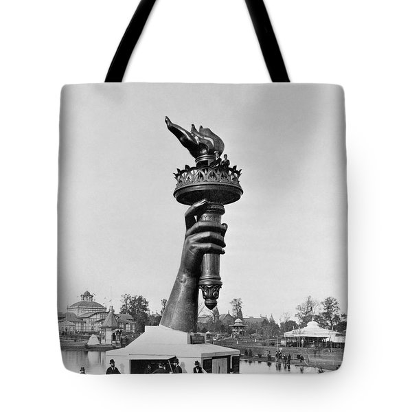 Statue Of Liberty 1876 Tote Bag by Granger