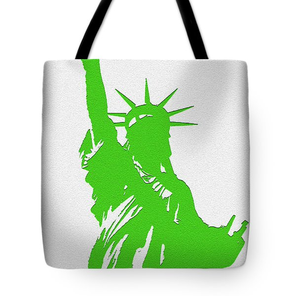 Statue Of Liberty No. 9-1 Tote Bag