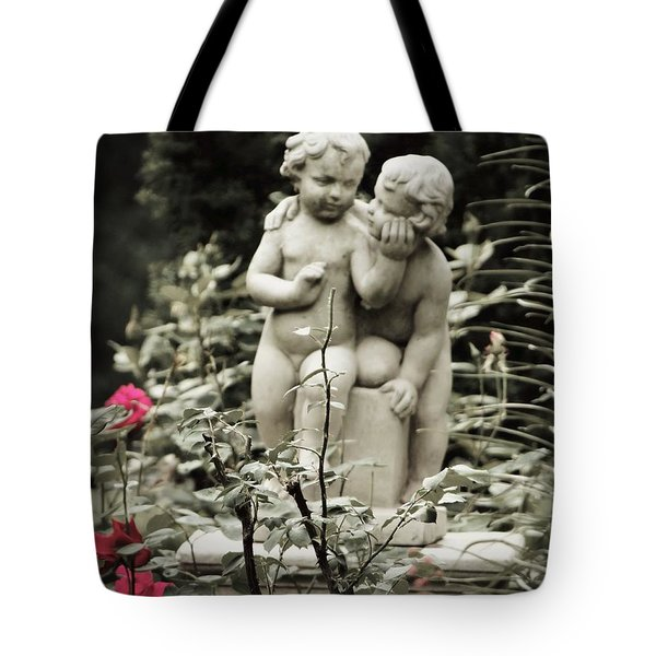 Statue Of Love Tote Bag