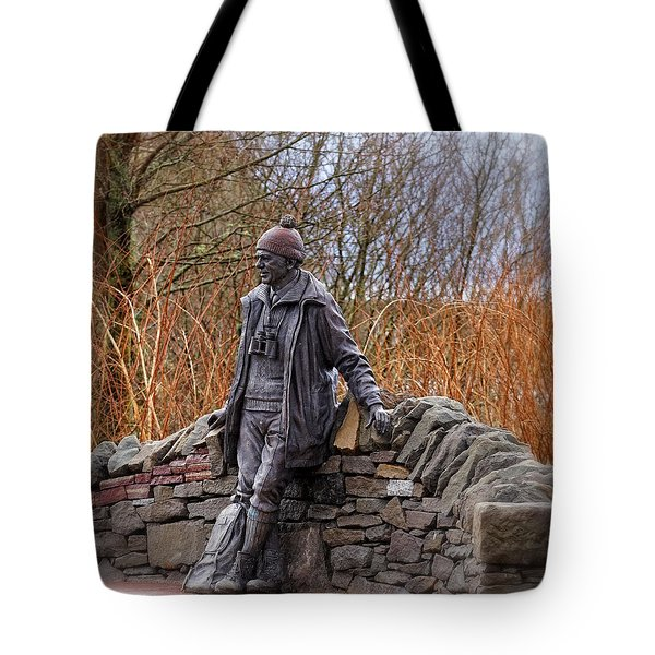Statue Of Tom Weir Tote Bag by Jeremy Lavender Photography