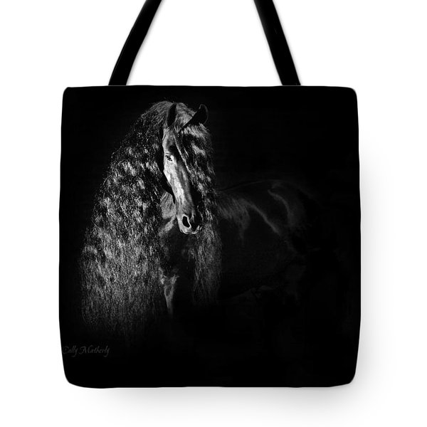 Statuesque Black Beauty Tote Bag