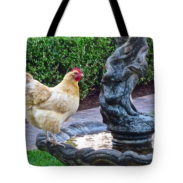 Statuesque Tote Bag by Gwyn Newcombe