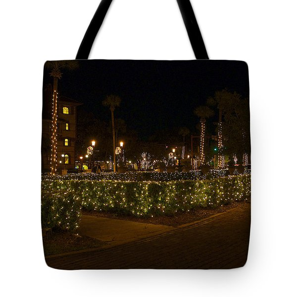 St.augustinelights1 Tote Bag