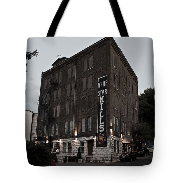 Staunton Mill Street Bar And Grill Tote Bag