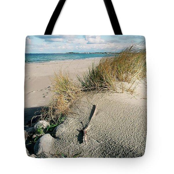 Tote Bag featuring the photograph Stavanger Shore by KG Thienemann