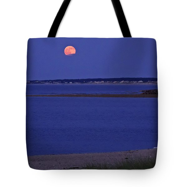 Stawberry Moon Tote Bag