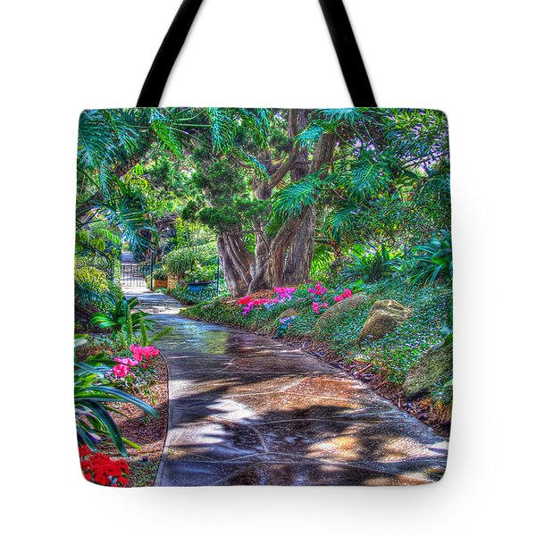 Stay On Your Path Tote Bag