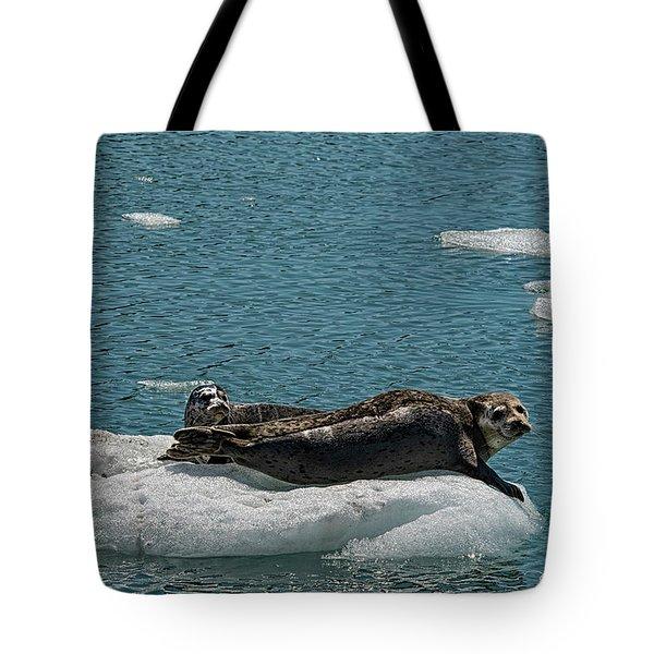 Staying Cool Tote Bag