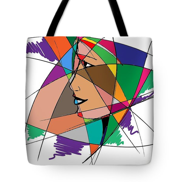 Staying Focused Tote Bag by Stanley Mathis
