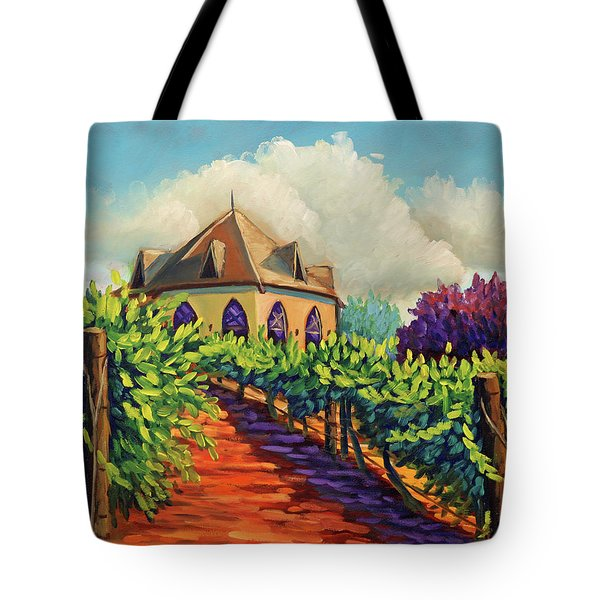 Ste Chappelle Winery Tote Bag