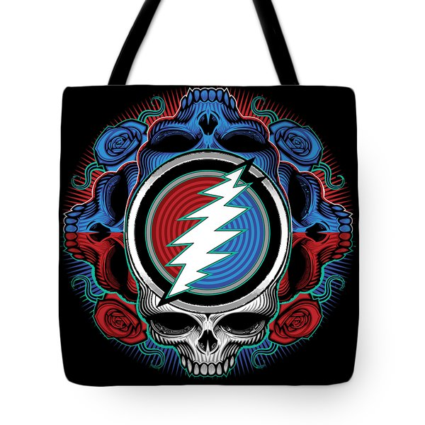 Steal Your Face - Ilustration Tote Bag