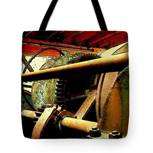 Steam Donkey Tote Bag