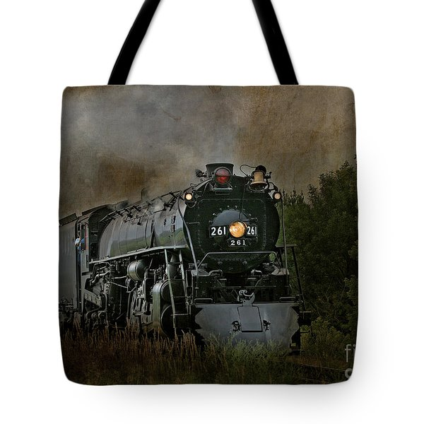 Steam Engine 261 Tote Bag